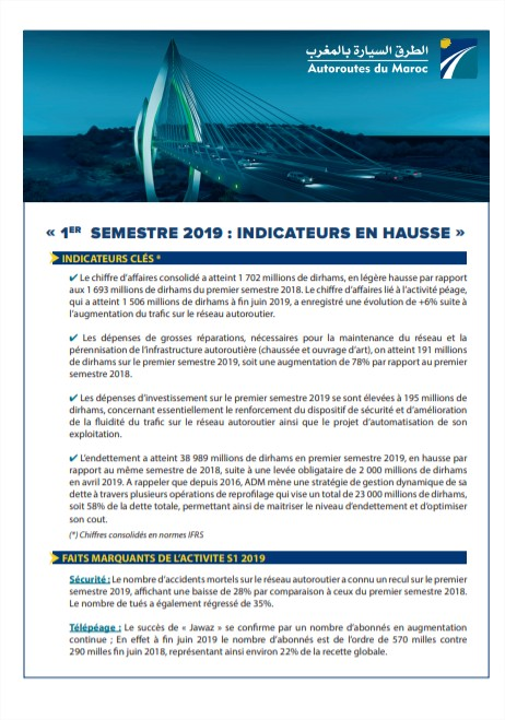 Indicateurs Trimestriels T2 2019